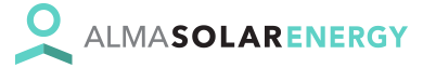logo Alma solar Energy
